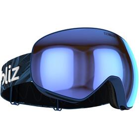 Bliz Floz Gafas, azul/marrón